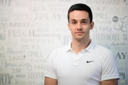 Fitnes instruktor Miloš Mirković