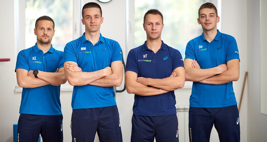 Tim instruktora Smart Fitnes centra Novi Beograd